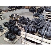Rouleau de roue robuste pour grue sur chenilles