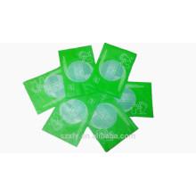 Small vacuum plastic bag with logo printing