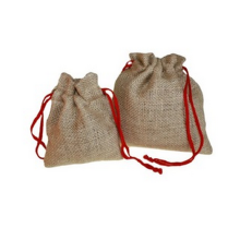 Natural soap linen tote bag for gift from YJX