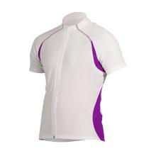Equipe de ciclismo Jersey para homens manga curta
