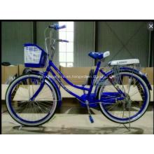 Bicicleta de ciudad de 28 pulgadas, vieja escuela de Inglaterra