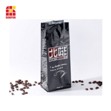 Custom printed 250g coffee bag with air valve