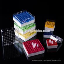 mini congélateur boîte de 2 ml cryovial