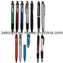 Stylus-Kugelschreiber mit eigenen Logo bedruckt für Promotion-Zwecke