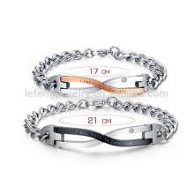 Casais de correspondência pulseiras, casal amor para sempre pulseira jóias