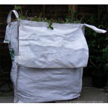 Usado Reciclado Bolsa FIBC para Jardim Farm etc