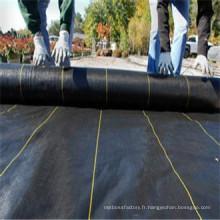 Tapis anti-vieillissement anti-vieillissement de mauvaise herbe de 2% pp / tissu de lutte contre les mauvaises herbes / tissu d'ouatine de jardin