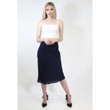 Knee Length Bias Cut Skirt