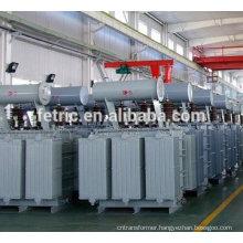 Three phase oil type 6 mva transformer