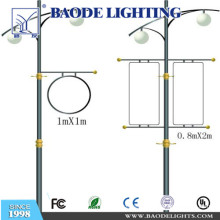 7m Single Arm Galvanized Round /Conical Street Lighting Pole (BDP-10)