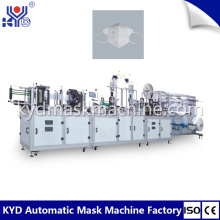 Máquina para fabricar respiradores de polvo amarillo desechables
