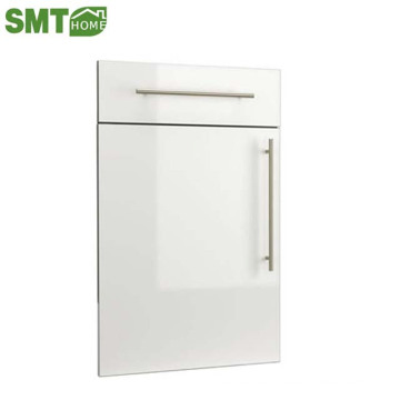 WHITE COLOR PVC HIGH GLOSS KITCHEN CABINET DOOR