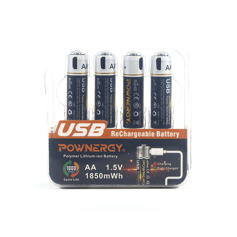 AA Battery Lithium-ion 1850mWh