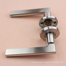 """Tube Satin Door Lever Handle with 8"""" spindle"""