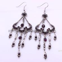 Bridal lustre classique résine perles Boucles d'oreilles femmes