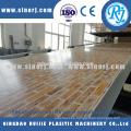 Piedra plástico PVC perfiles de línea de la máquina extrusora de falso mármol