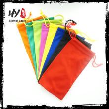 новый товар текстильный мешочек для солнечных очков, индийский мешок drawstring, мягкий чехол солнцезащитные очки