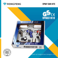Rongpeng R8031k10 10 PCS ar pistola Kits pistolas de ar