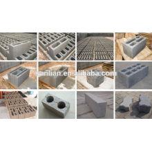 Máquina de moldeo de bloques de cemento