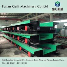 Table à rouleaux pour ligne de production d'acier complète