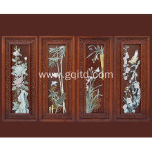China style house office decoration wood carving