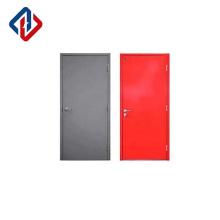 EN1634 factory direct sale 30mins single leaf steel fire door with handle