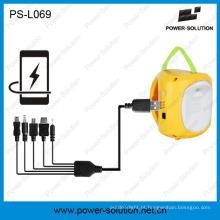 Mini lanterna 4500mAh / 6V solar qualificada para o quarto (PS-L069)
