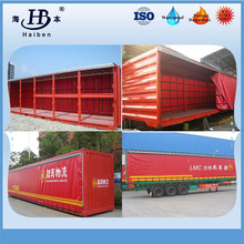 Customized pvc coated tarpaulin truck side curtain