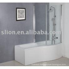 P shape acrylic bathtub,baby bathtub,square acrylic bathtub
