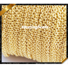 Chain Necklace Wholesale, Jewelry Chain, Copper Gold Chain Accessories (RF053)