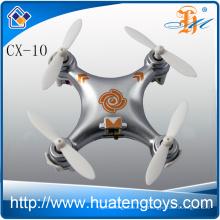 Горячее сбывание cheerson hc миниое rc drone cx-10 хобби миниое 2.4g 4ch 6 оси quadcopter для сбывания