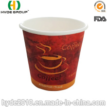 4 Oz de copo de papel café com FDA & GV