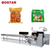 Горизонтальная упаковочная машина для упаковки пищевых продуктов в пакеты с лапшой