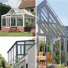 Feelingtop Aluminum Sunroom Double Laminated Glass Sun House