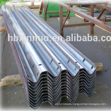 Highway guard rail steel roofing rollforming machine for guardrail