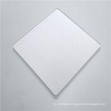 Prismatisches Polycarbonat-Festblech mit hoher Lichtdiffusion