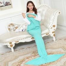 Mermaid Tail Blanket Crochet and Mermaid Blanket for Girl