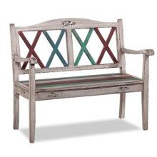 Wooden Vintage Antique Outdoor Bench