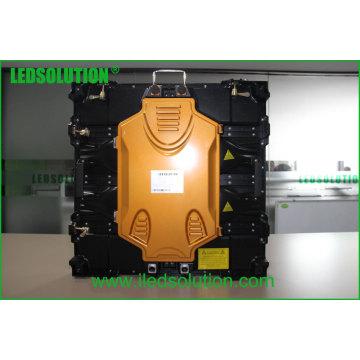 Exposição de diodo emissor de luz alugado exterior de pouco peso 640X640mm do arrendamento P5