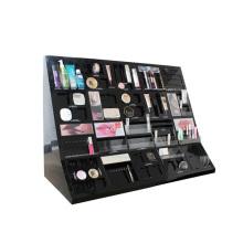 Contador cosmético barato exhibe los estantes de exhibición del gabinete