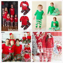100% хлопка ночь носить Рождество пустое пижамы оптовая Рождество пижамы