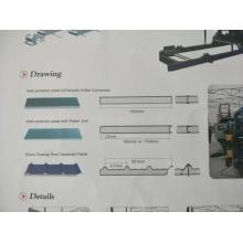 Panneau mural EPS faisant la ligne de machine