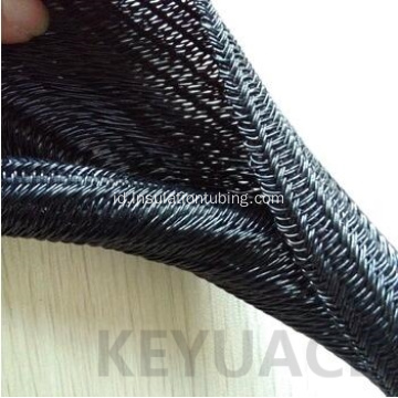 UV Resistant Self Closing Cable Jalinan Sleeving
