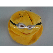 Hat Cap Yellow Plush Hat