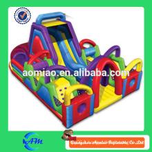 Cheap commercial crossing gonflable jumpers bouncer, ville amusante gonflable parc jeux pour adultes Chine inflatable obstacle
