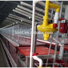 Equipo de la jaula de las aves de corral del precio de fábrica de China para la granja de los broilers