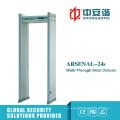 Zonas de alarma múltiple Pantalla LCD Alarma visual Detector de metales portátil