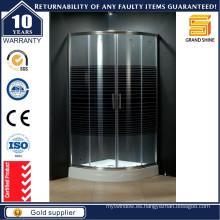 2016 de alta calidad de esquina grandes gabinetes de cristal de ducha