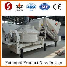 Calculadora de concreto Misturadora de cimento móvel mini planta de mistura de concreto
