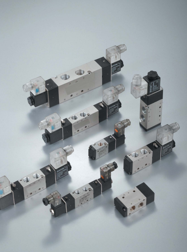 Types of 4V220 pneumatic solenoid valve series